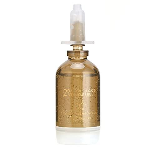 Sérum pour le Visage, Sérum à L'acide Salicylique élimination des Cicatrices D'acné Exfoliant pour le Visage Traitement de L'acné Sérum pour le Visage 15ML