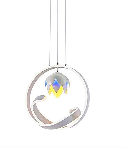 HELIn Lampadari Creativo Pine frutto a Forma di LED Lampadario Sala da Pranzo Semplice Soggiorno Camera da Letto Studio in Alluminio Lampadario (4040 cm/Altezza 100 cm Regolabile) Simple And Noble