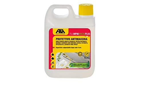 FILA Surface Care Solutions FILAMP90 Eco Plus, Protettivo Antimacchia per Marmo, Granito, Agglomerati e Pietra Naturale, 1L