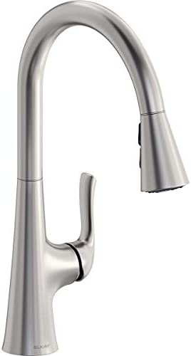 Elkay Harmony Single Hole Kitchen Faucet with Pull down Spray and Forward Only Lever Handle product image