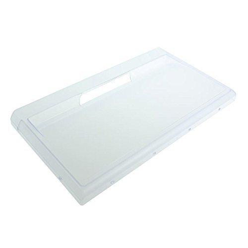 Ariston Kühlschrank Gefrierschrank Schublade Front Panel/Cover Flap (weiß, 430mm x 240mm)