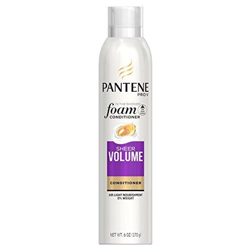 Pantene Pro-V Sheer Volume Foam Conditioner, 6 ounce