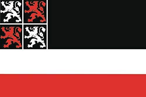 U24 Sticker Uitgeest (Nederland) vlag vlag 8 x 5 cm autosticker sticker sticker