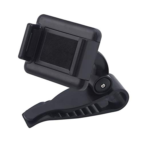 WLLOVE WULE Soporte de teléfono de la lechón 360 Monte en el Soporte de automóviles Sin Soporte magnético Celular móvil Celular Smartphone Fit para el Titular del iPhone (Color : Black)