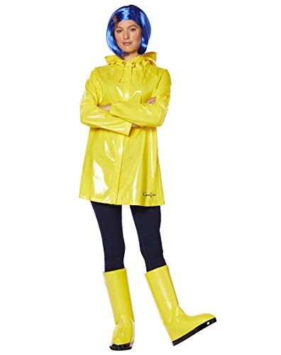 Spirit Halloween Adult Coraline Costume | Officially Licensed - L