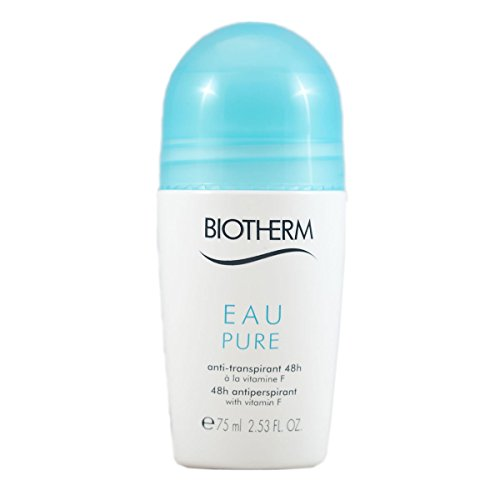 Biotherm Deo Pure femme/women, Antiperspirant Roll On, 1er Pack (1 x 75 g)