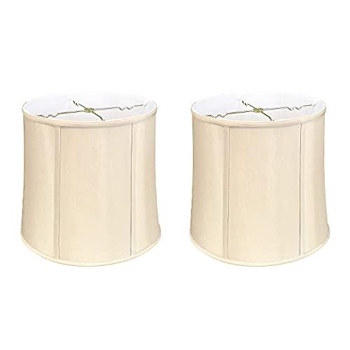 Royal Designs Drum Lamp Shade, Beige, 11