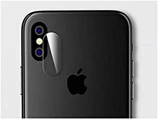 Camera Lens Screen Protector For Apple iPhone X - Transparent/Clear