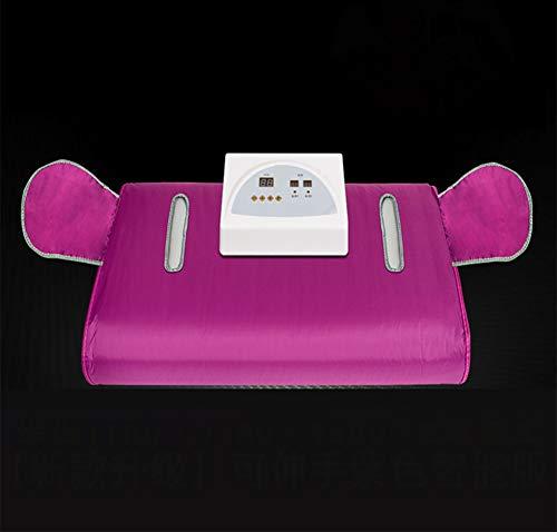 XALO Infrarot-Sauna Decke, 180 * 80Cm Tragbare Dampfsauna Für Form, Nach Hause Schönheitssalon Weight Loss Körper Persönliche Therapeutische Sauna Mit Sicherheitsschalter