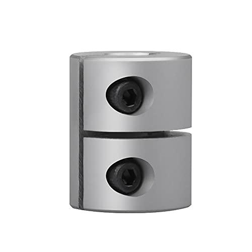 Sinoblu 9mm to 10mm Shaft Coupling, Aluminum Rigid Clamp-on Couplings D25 L25, Shaft Coupler for Stepper Motor Servo Motor CNC Machine 3D Printer DIY Encoder