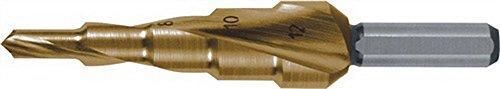 RUKO 2枚刃スパイラルステップドリル 32mm チタン 101057T