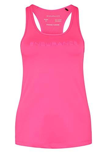 Endurance Damen Tanktop Helmond mit integriertem Sport-BH 4014 Knockout Pink, 38