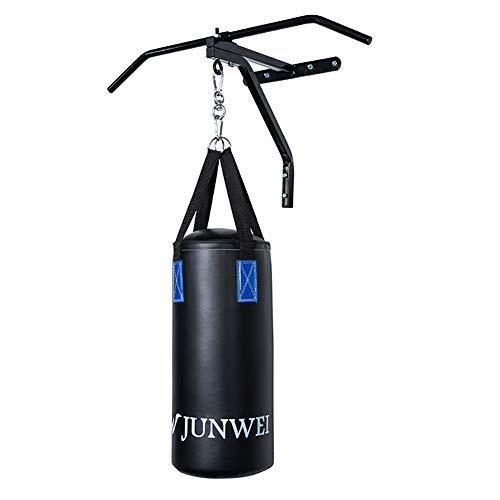 ULTRA FITNESS Pesado 4ft 1.5m Lleno Saco de Boxeo Set Con Soporte de Pared