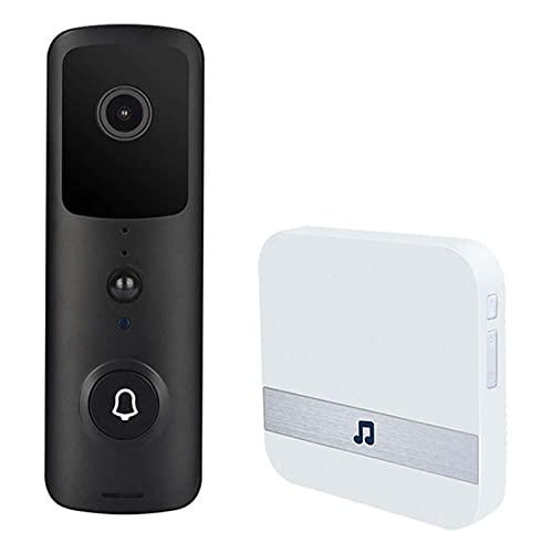 Cámara De La Puerta Visión Nocturna A Prueba De Agua 1080p HD Video Pi Pir Sensor De Movimiento Audio De Dos Vías 166 Grados De Gran Angular De 7 Días De Almacenamiento Gratuito De Nubes para iOS/An