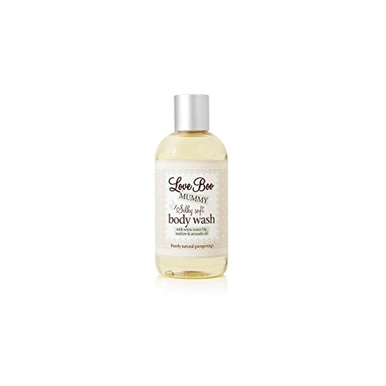 融合一族主にLove Boo Silky Soft Body Wash (250ml) - 絹のようなソフトボディウォッシュ(250ミリリットル)愛 [並行輸入品]
