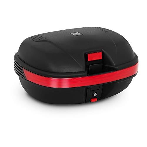 MSW Caja para Moto Baúl De Motocicleta MSW-MC56L2 (Universal, con Cerradura y...