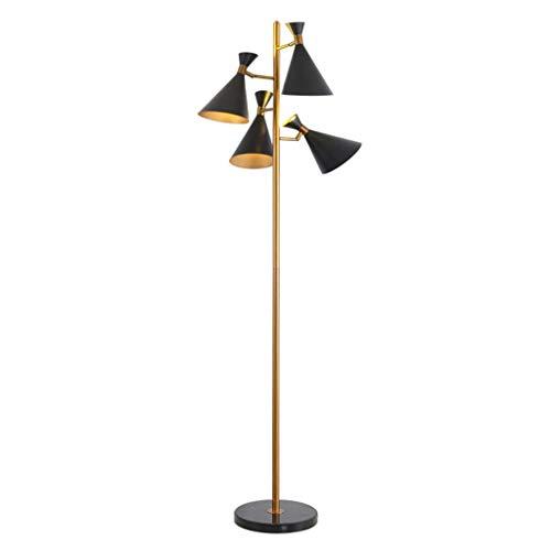 LYM & daglicht staande lamp Moderne creatieve basis marmer hoorn slaapkamer restaurant hotel club bedlampje staande lamp