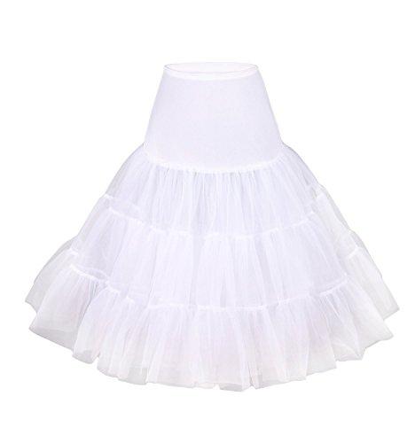 Vintage Rockabilly petticoat rok voor dames, voor zomer, vrouwen, vintage, cocktail, festival, minirok
