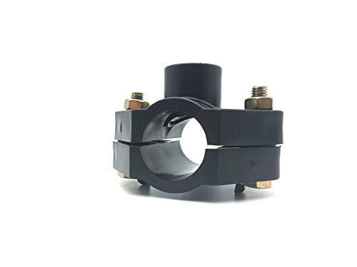 Plasson PN 10 Anbohrschelle für 25-40 mm Pe-Rohr PROFI-QUALITÄT Regneranschluss (32 mm x 1/2