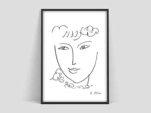 Póster de Henri Matisse La Pompadour, Lámina de Matisse, Matisse los recortes, Le Buisson, Póster de arte de Matisse, Pintura decorativa sin marco de Henri Matisse Exhibi Familia A19 40x60cm