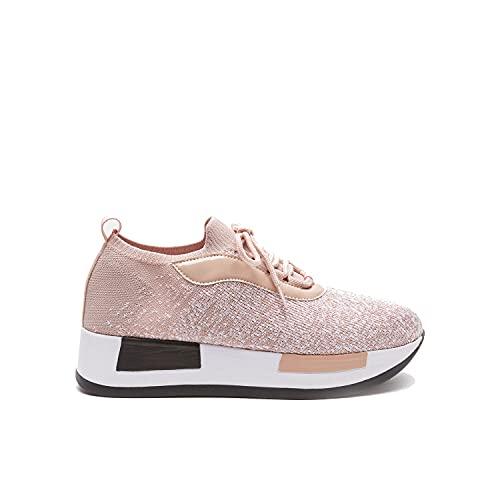BATA Sneakers con Suola rialzata Donna
