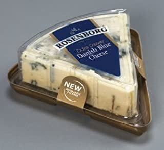 Rosenborg Extra Creamy Danish Blue Cheese, 4.4 Ounce -- 8 per case.