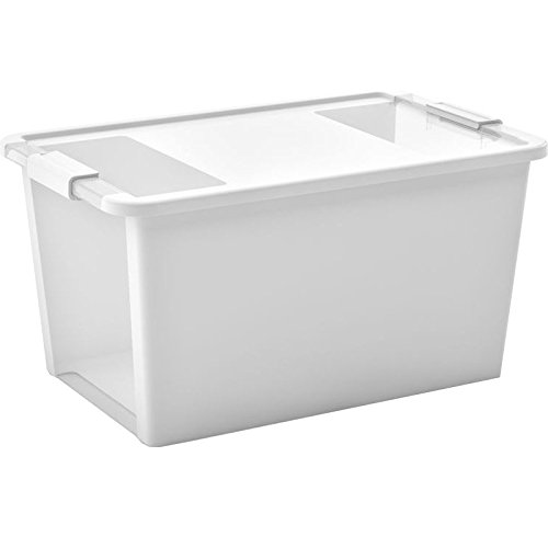 Kis Bi Box L - 55X35X28H Bianco/ Trasp.
