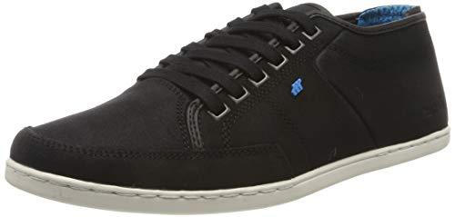 Boxfresh Herren Sparko Sneaker, Schwarz (Black Blk), 43 EU