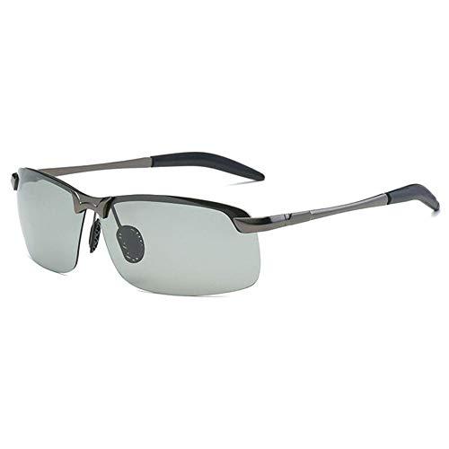 Gelentea Brainart mannen fotochrome zonnebril met gepolariseerde lens lichtgewicht duurzaam voor rijden, vissen, dagelijks casual outdoor