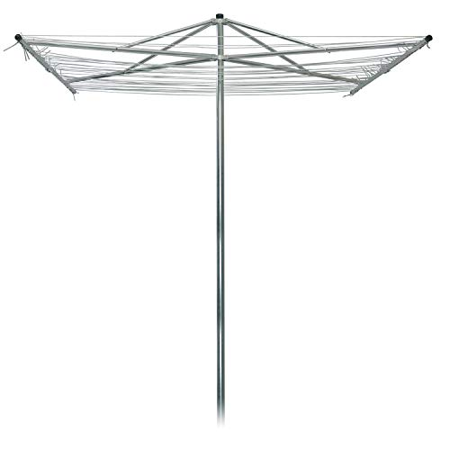 Strata Outdoor Parallel Rotary Dryer Clothes Line 184 Parallel Silver