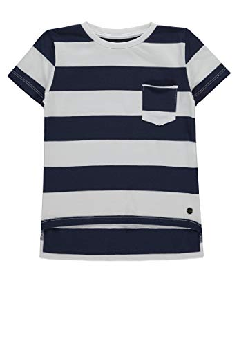 Marc O' Polo Kids Jungen 1/4 Arm T-Shirt, Blau (Mood Indigo|Blue 3008), 110