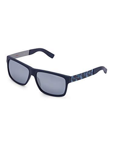BOSS Orange BO 0196, Gafas de Sol Unisex, Azul (Bl Antcblazu With Black Fl Lens), 59 mm