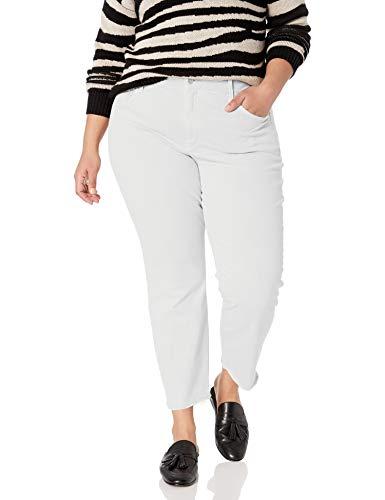 Product Image 1: NYDJ Women's Size Plus Sheri Slim Ankle with Mini FRAY Hem