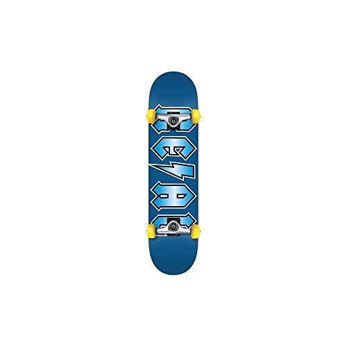 Real Blau Deeds Metallics - 7.75 Inch Skateboard Komplett (One Size, Blau)