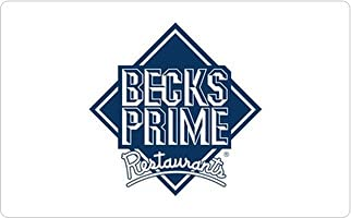 Super special Online limited product price Becks Prime Gift Card