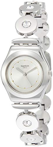 Swatch Irony Inspirance Silver Dial Stainless Steel Ladies Watch YSS317G