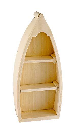 Fischerboot, aus Rohholz, Höhe ca. 26,5 cm
