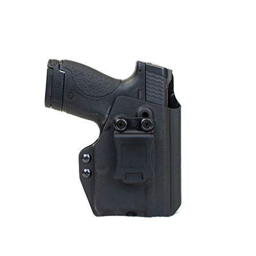 Priority 1 Holsters Inside The Waistband Holster for Smith & Wesson Shield with Streamlight TLR-6 - Right Handed