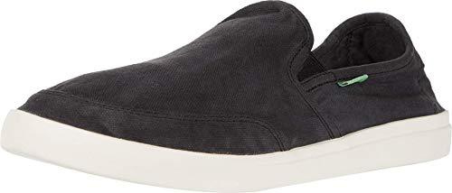 Sanuk Vagabond Slip-On Sneaker Black 1 12