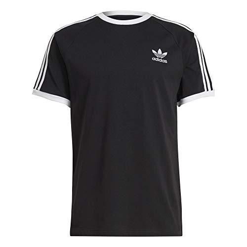 Adidas 3 Stripes - Maglietta Nero M