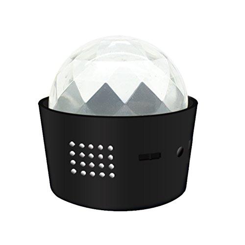 LEDMOMO Luces del partido de la bola de discoteca - Luces de la etapa del mini USB LED Luces del club para el regalo de cumpleaños de los niños Fiesta de bodas casera de Navidad de KTV