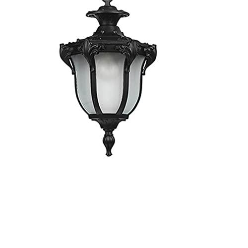Vibret Lámpara De Luz Colgante IP44 Retro Europea Al Aire Libre Cable Antioxidante Impermeable Ajustable Exterior Techo Colgante Patio Linterna Eventos Entrada Jardín Balcón Suspensión E27