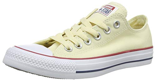 Converse Chuck Taylor All Star Ox, Zapatillas Unisex Adulto, Beige (Natural White/Unblecach White), 37 EU