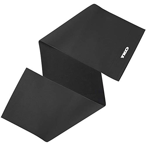 """TKO Waist Trimmer - Adjustable Ab Belt to Help You Shed The Excess Water Weight and Tone Your Mid Section. Black Color, 10"""" Wide"""