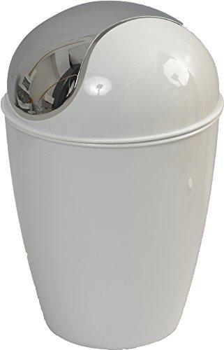 Evideco 6507100, Blanc, 0,5 Litre-0.3 GAL/13 cm L x 20,2 cm H