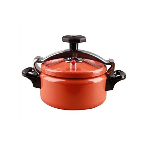 Mini Pressure Cooker-explosionsgeschützte Außen bewegliches Aluminium Pressure Cooker Steamer, Slow Cooker Suppentopf, Edelstahl-Verbund Bottom yqaae