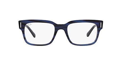 Ray-Ban 0RX5388 Gafas, STRIPED BLUE, 53 Unisex Adulto