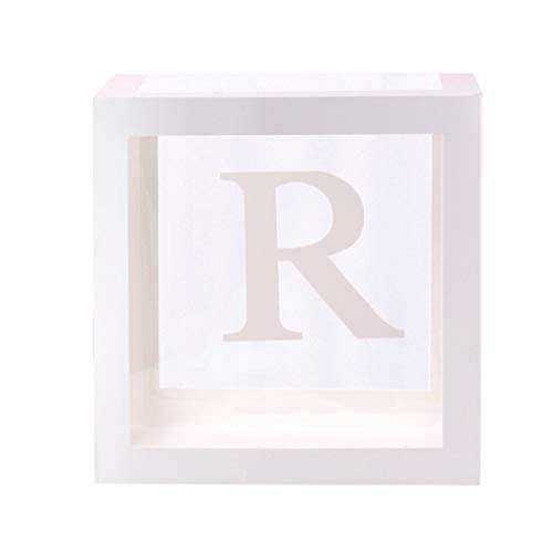 Letter A- Z Transparent Gift Boxes Kid Birthday Baby Shower Party Decoration Housekeeping & Organizers Valentine's Day, St. Patrick's Day, Easter, Ramadan Onsale