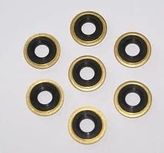 SP Medical Oxygen Regulator Brass Yoke Washer Seals - Pack of 25