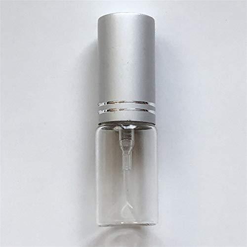 Wihgfcv Botella de envase cosmético 5 ml (100 Piezas) Travel Portátil Perfume Perfume BOTELETE Muestra EMPUTADORA VACÍA ATOMizador Mini Recipiente cosmético Recargable